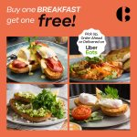 DEAL: The Coffee Club – Buy One Breakfast Get One Free (Pickup In-Store or Uber Eats)