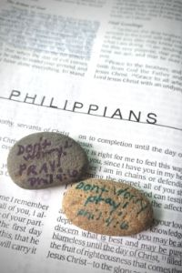 Pocket Prayer Rock for Anxious Kids