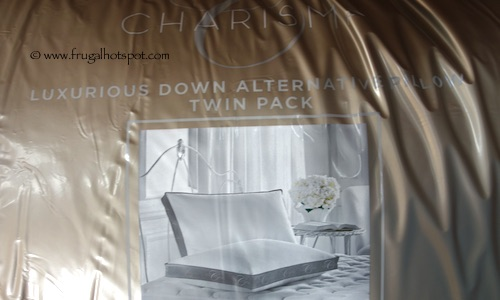 charisma luxury down alternative pillow