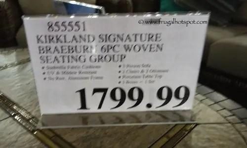Costco: Kirkland Signature Braeburn 6-Pc Seating   Frugal ... on Costco Furniture Showroom Kirkland Washington id=59449