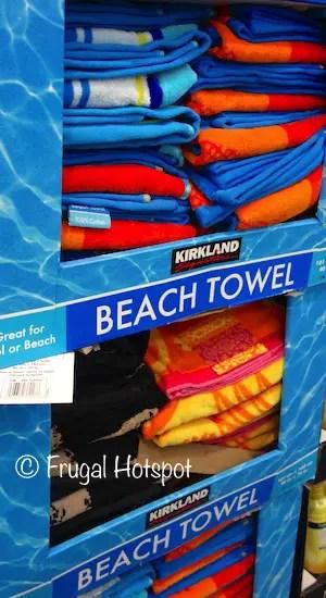 "Costco Sale: Kirkland Signature Jacquard Beach Towel 40"" x ... on Costco Furniture Showroom Kirkland Washington id=95916"