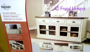 Bayside Furnishings 72″ Accent Cabinet   Costco   Frugal ... on Costco Furniture Showroom Kirkland Washington id=38031