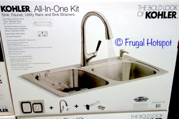 costco sale kohler sink and faucet all