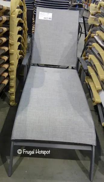 Costco Sale: Kirkland Signature Commercial Sling Chaise ... on Costco Furniture Showroom Kirkland Washington id=39109
