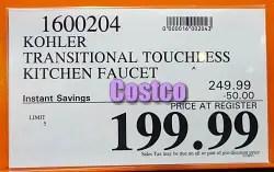 https www frugalhotspot com 2020 09 costco sale kohler touchless kitchen faucet