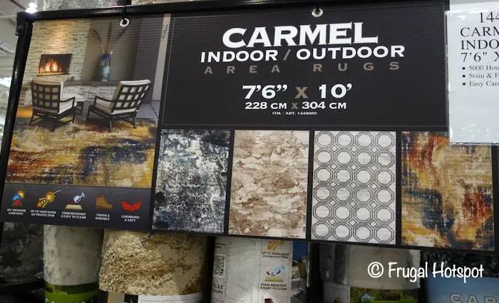carmel indoor outdoor 7 6 x 10