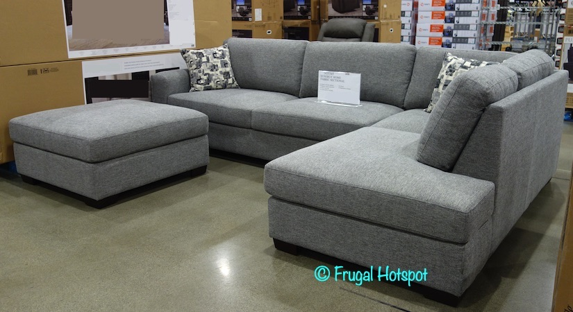 synergy home fabric sectional at costco