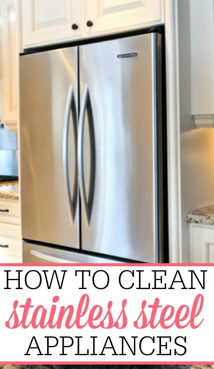 How To Clean Stainless Steel Appliances Frugally Blonde