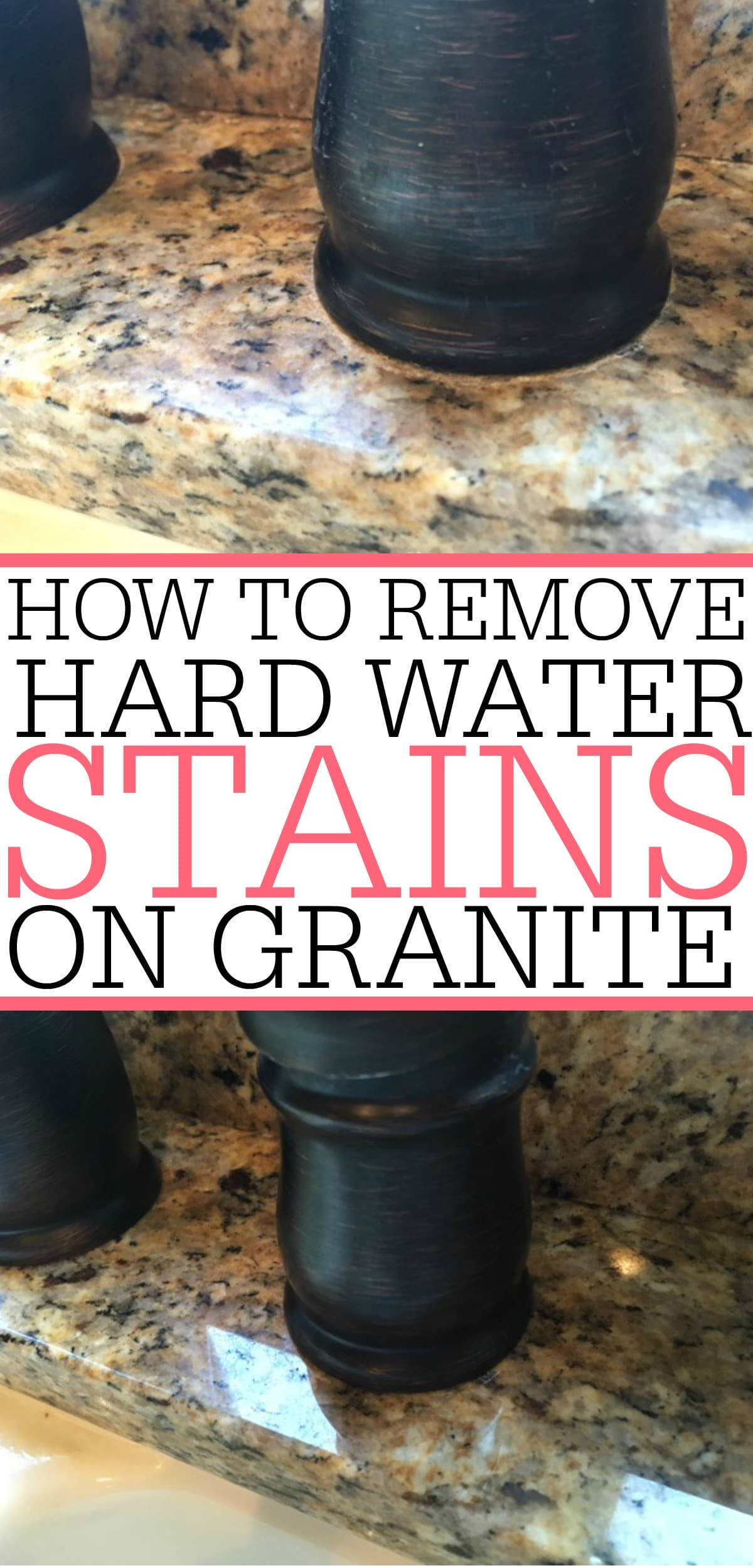 How To Remove A Water Stain On Granite - Frugally Blonde on Black Granite Stain  id=20398