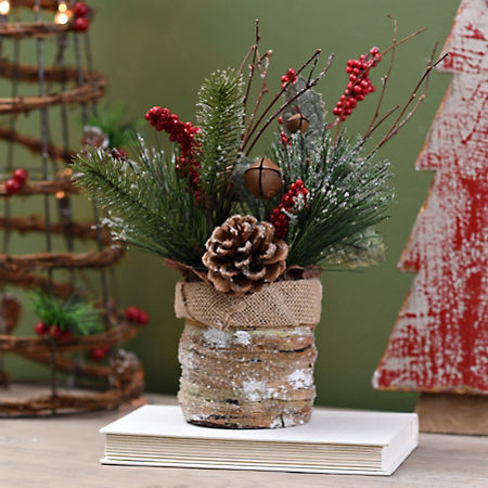 Kirklands Christmas.Kirklands Christmas Pine Arrangement Frugally Fantastic