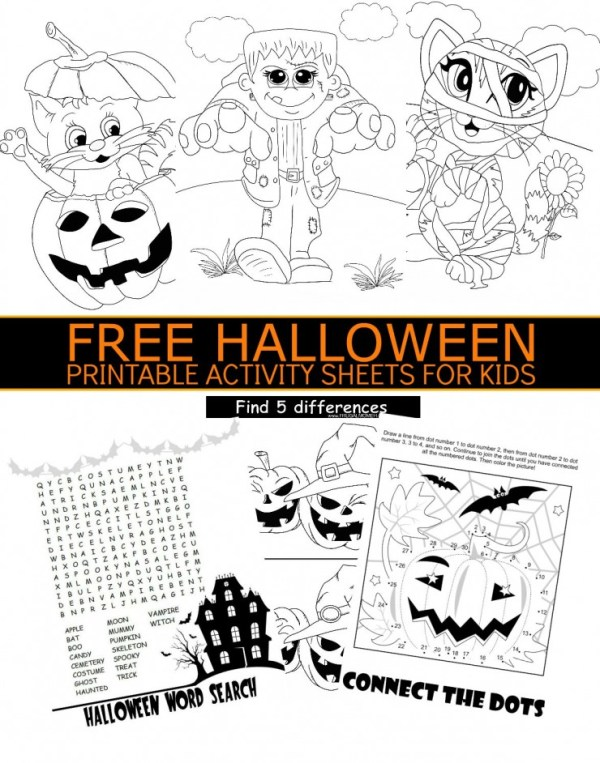 free halloween printables for kids # 8