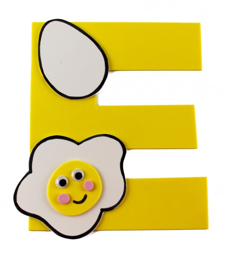Older kids could paint the egg carton sections to look like flowers. Alphabet Crafts For Kids E Is For Egg Frugal Mom Eh