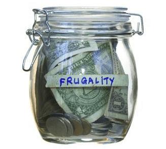 Step 1: Be frugal
