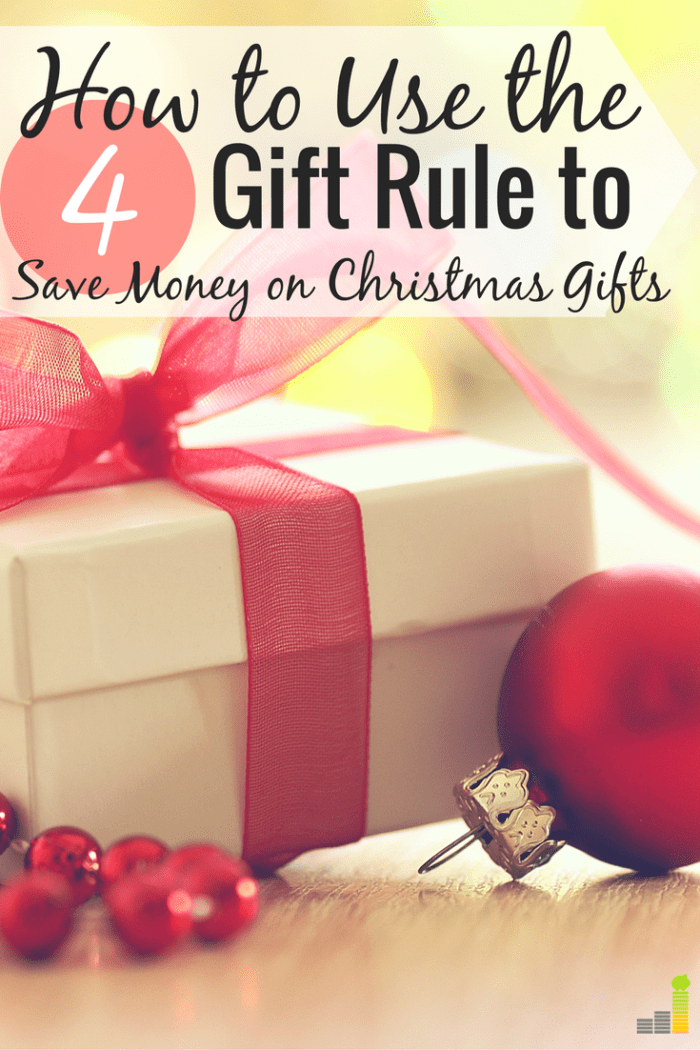 Will The 4 Gift Rule Work For Your Family This Christmas