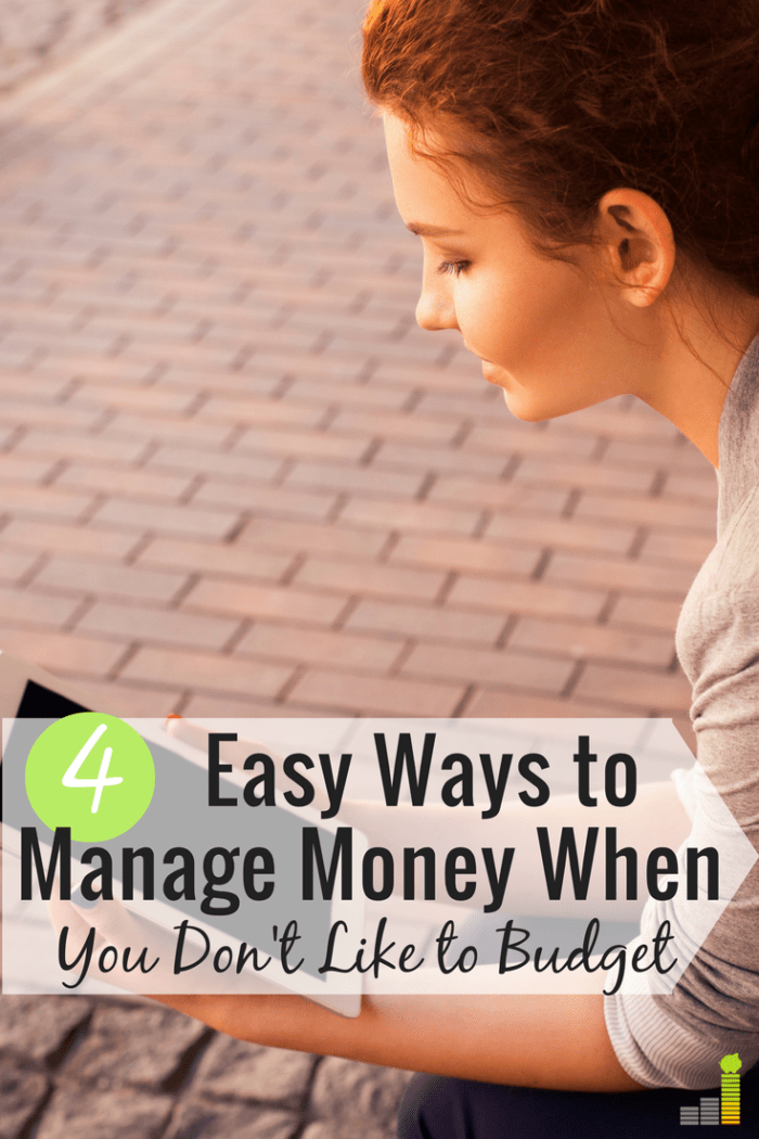 4 Easy Money Management Solutions For Anti Budgeters