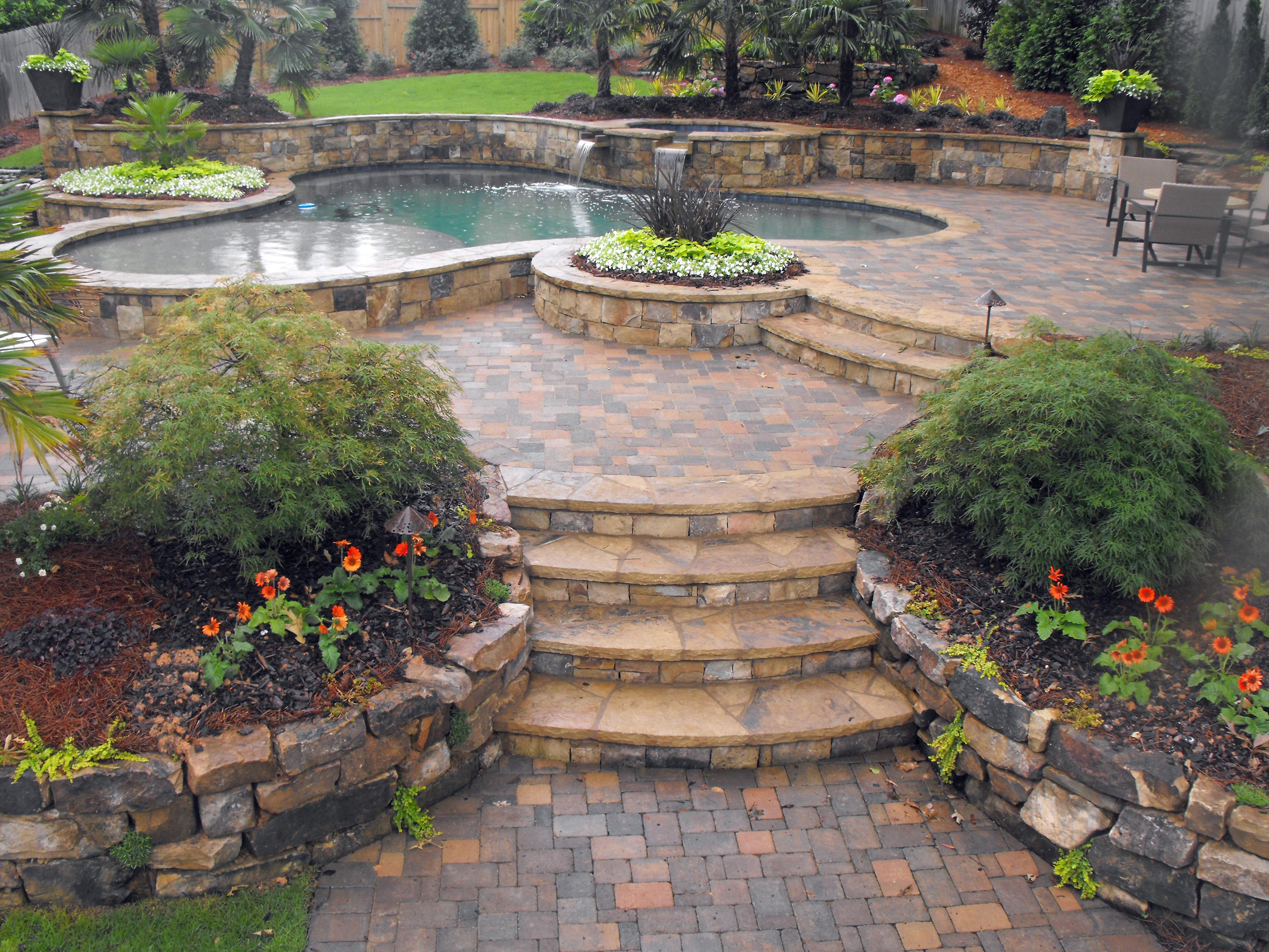 backyard-design-ideas-3648×2736-hardscape-sets-the-stage ... on Hardscape Patio id=75021