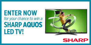 SAH Sharp Aquos TV banner