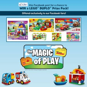 Contest Enter To Win 1 Of 3 Lego Duplo Grand Prize Packs From