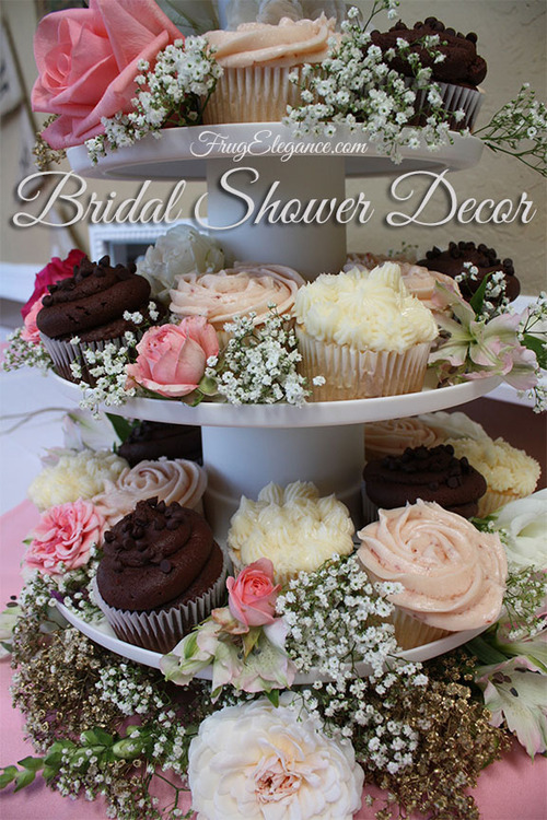 bridal shower decor frugelegance wwwfrugelegancecom
