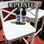 Easy Updating with Spray Paint- Kitchen Stools