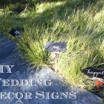 DIY Wedding Signs: Happily Ever After