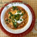 Easy Taco Soup Recipe Hearty & Healthy