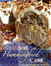 Hummingbird Cake Recipe -A Springtime Favorite!