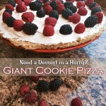 Giant Cookie Pizza – A Quick & Easy Dessert