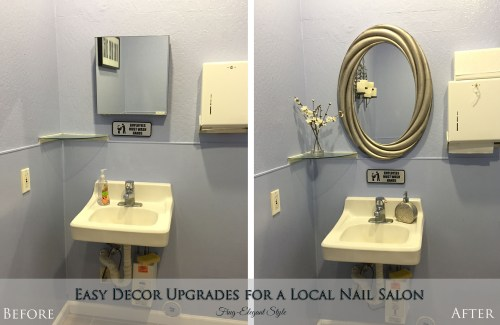FrugElegance by Design - Nail Salon Upgrade
