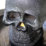 Easy Halloween Decor Light Up Skull