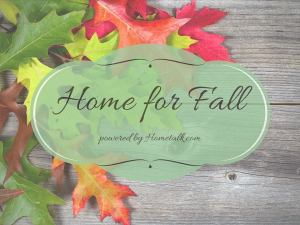 Home For Fall BlogHop