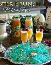 Easter Brunch Bellini Bar