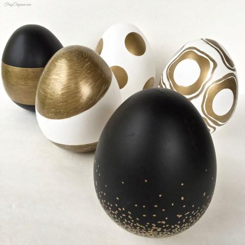 Elegant Spring Egg Decor   FrugElegance   www.frugelegance.com