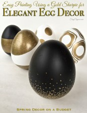 Elegant Egg Spring Decor