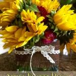 Easy Spring Flower Vase