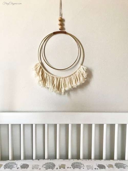 Anthropologie Knock Off Dream Catcher Wall Art by FrugElegance.com