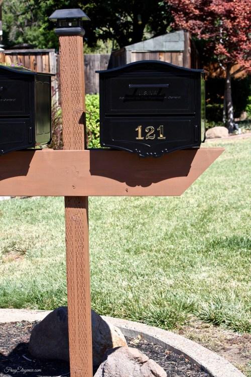 Upgrade to a Locking Mailbox | www.FrugElegance.com