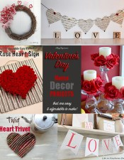 Easy & Affordable Valentine Decor Projects