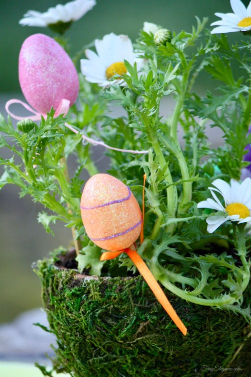 Add a Touch of Easter Decor For Less by FrugElegance.com