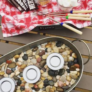 Indoors or out our easy smoresparty is great when youhellip