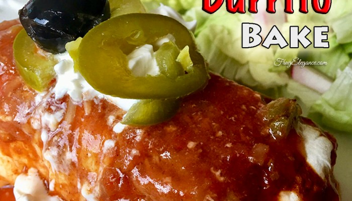 Chicken Burrito Bake