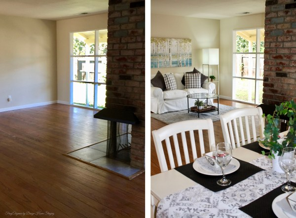 FrugElegance by Design Home Staging | Before and After Gallery | www.frugelegance.com