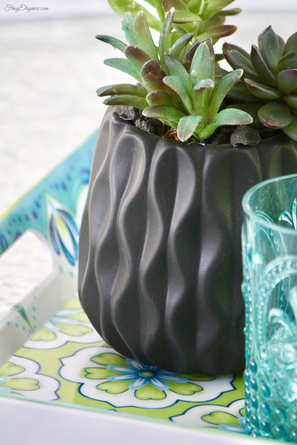 Easy Home Decor With Artificial Succulent Planters