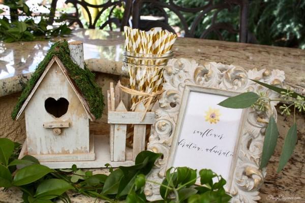 Secret Garden Baby Shower at FrugElegance.com