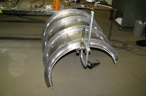 2 fabricated Screw Feeder Cover