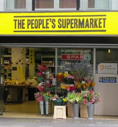 The people's supermarket Londra