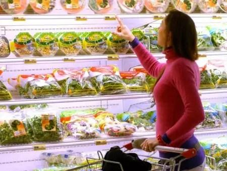 alimentazione insalata