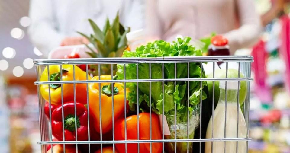 frutta verdura carrello