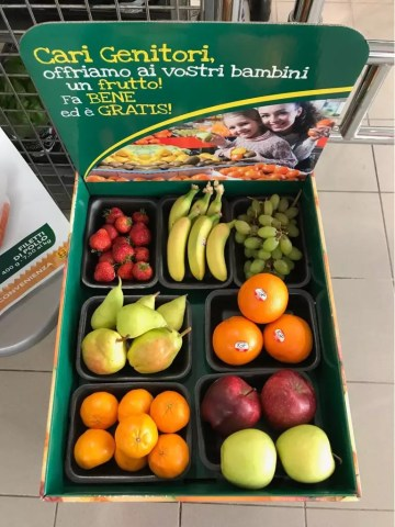 Todis frutta bambini