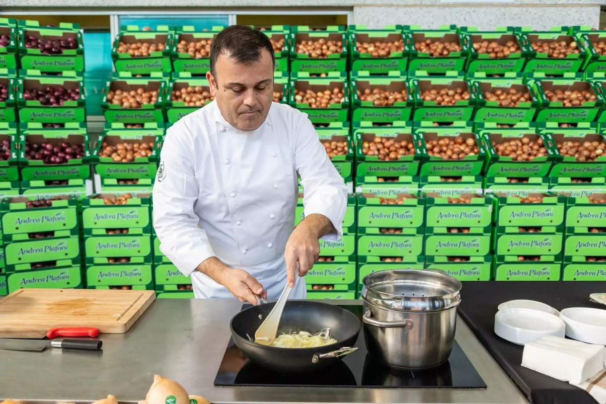 chef Campoli cipolla dolce show cooking